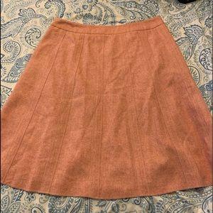 Merona  50% wool size 6 pink skirt